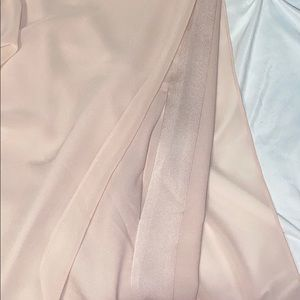 BCBGMaxAzria Dresses - BCBGMaxAzria Long Sleeved Blush Tunic Dress Sz XXS